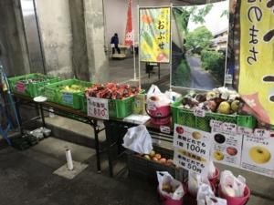 小布施プロジェクトで 愛知県の市場に