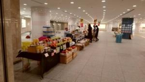 小布施の方が東京でマルシェ販売