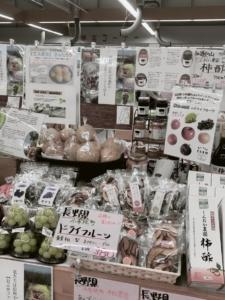 愛知県 でんまーと直売所に スイートのドライフルーツ