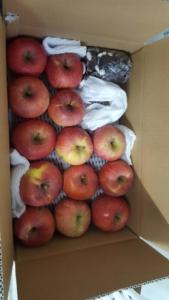 ふじリンゴと 花豆 の カスタムオーダー