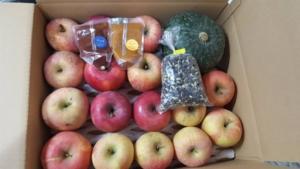 りんごとスムージー、ジャム、かぼちゃ、豆のカスタムオーダー